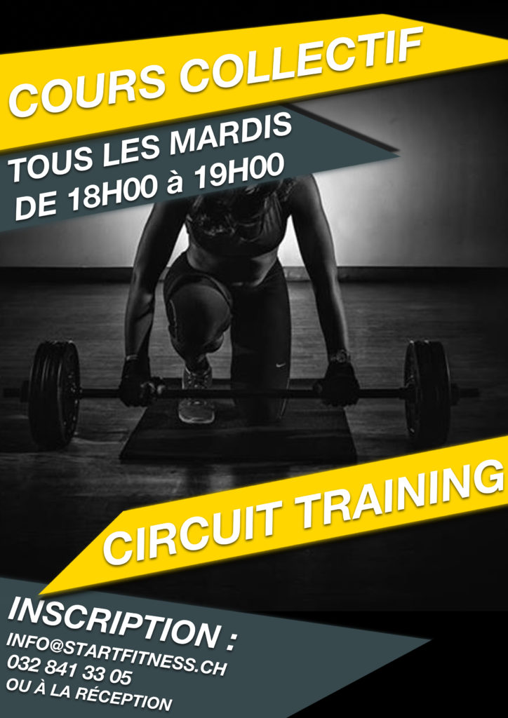 Cours de Circuit Training